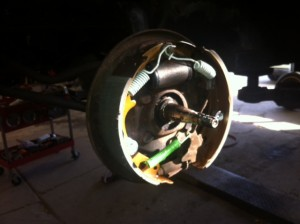 Inside the new brake